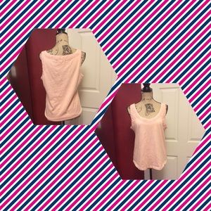 J. Crew peachy pink tank top